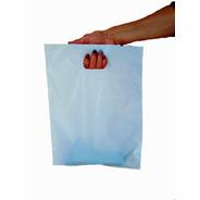 Bolsas Lisas Blancas Riñon Polietileno 50x60