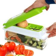 Fatiador Legumes Cortador Verduras Espiral Ralador Picador Multiuso