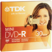 Mini Dvd -r Sony O Tdk Handycam 30 Min 1.4gb - Factura A / B