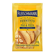 Fermento Biológico Seco Instantâneo Pães Fleischmann 10g