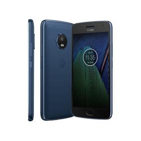 Celular Motorola Moto G5 Plus Xt1683 Azul Safira
