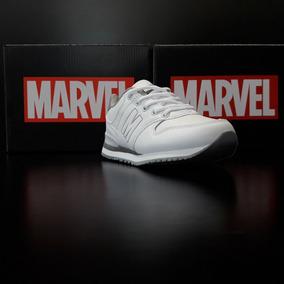 Marvel Calzado Colegial Casual Cordon Negro