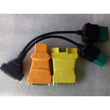 3 Cables Obdi Ford, Chrysler, Jeep, Toyota, Lexus Craftsman