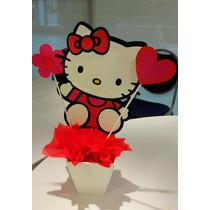 Centro De Mesa Hello Kitty
