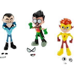 Teen Titans Go 3-pack De Figuras De 6 Tienda Oficial