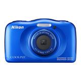 Nikon Coolpix W100 Camara Digital Compacta (color Azul)