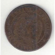 Imperio Francés - 10 Céntimes - 1854 - Muy Antigua Y Valiosa