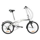 Bicicleta Plegable Dtfly Urban Shimano 6 Vel.