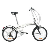 Bicicleta Dtfly Urban Plegable Shimano 6 Speed Gris