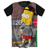 Camisa Camiseta Bart Simpson Os Simpsons Desenho Serie Anime