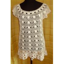 Vestido/salida De Playa Tejida Crochet