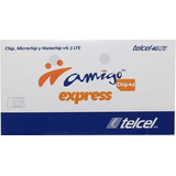 Chip Telcel Amigo Express