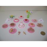 Comidas De Porcelana Fría Para Muñeca Barbie - Miniaturas