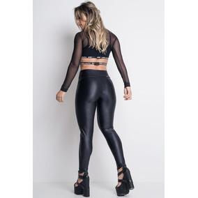 db5185656 Bolsa Lezalez Em Couro Sintetico - Leggings Femininas no Mercado ...
