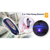 De Oportunidad Mini Detector De Billetes Falsos (mg+uv)