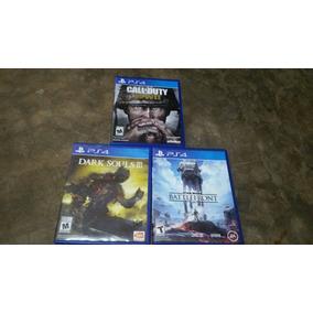 Vendo 3 Juegos De Playstation 4 Usados Como Nuevos