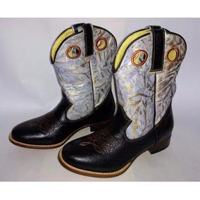 Bota Country Feminina Texana Lady Silver Bico Redondo - 36
