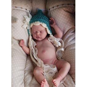 Bebê Reborn Julinha Com Corpinho Inteiro Em Vinil Siliconado