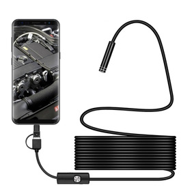 Camara Endoscoscopica 5 Mts Cable Rigido 5mm Android Windows