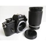 Cámara Fotográfica Nikon Em Análoga Réflex + Nikkor 35-135mm