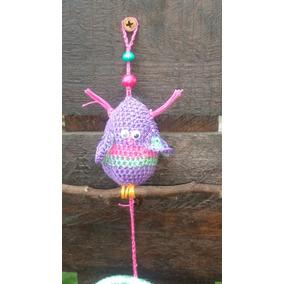 Atrapa Sueño Con Amigurumi De Búho A Crochet