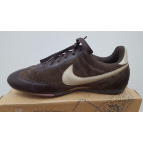 Zapatillas Nike Originales, Marrones De Gamuza