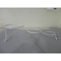 #14584 - Enfeite Suporte Para Vaso Metal, Branco!!!