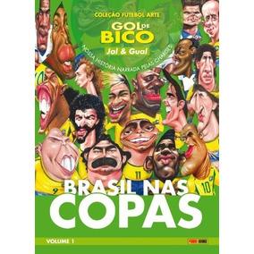 Brasil Nas Copas, V.1 - Editora Panini + Brinde