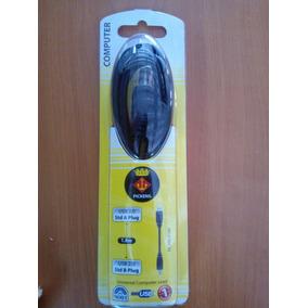 Cable Pickens Usb Conector Tipo A-tipo B 1.8m Para Impresora