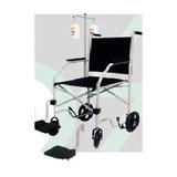 Cadeira De Rodas Cds Econômica C/ Suporte Para Soro