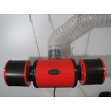 Extractor De Aire Kit Turbina Doble + Filtro Cultivo Indoor