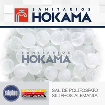 Piedras Sarro Sal Polifosfato Filtro Boya Siliphos X 1 Kg.