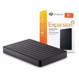 Hd Externo 1tb Seagate Expansion Usb 3.0 Stea1000400 Preto