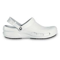 Zapato Crocs Caballero Trabajo Bistro Blanco