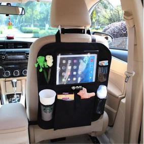 Organizador Asiento Auto Multi Uso Porta Tablet Celu Botella