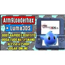 Desbloqueio Old/new 3ds E 2ds- Jogue Online! Rodando Tudo!!