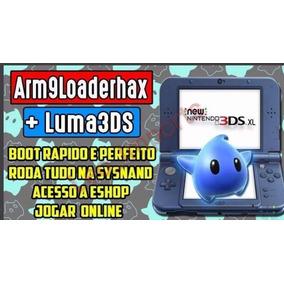 Desbloqueio 2ds 3ds E New 3ds Para Versão 11.6 - Hardmod!!!!