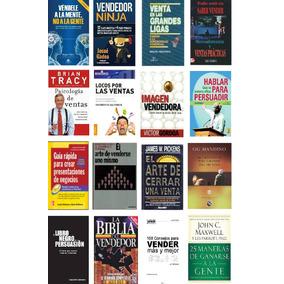 Libros Pdf De Ventas. Vendedor Profesional, Cierre, Pack