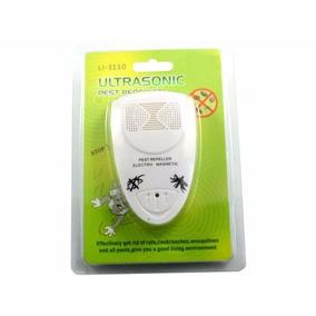 Repelente Electrico Ultrasonico De Insectos Cucarachas Ratas