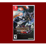 Monster Hunter Generations Nintendo Switch Disponible
