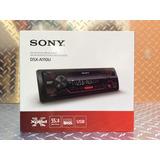 Auto Estéreo Sony Dsx-a110u Usb Auxiliar Radio Fm Y Am