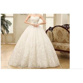 Vestido De Noiva Plus Size Tam. 56/58 Pronta Entreganobrasil