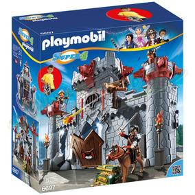 Playmobil 6697 Castillo Medieval Maletín Barón Negro Super 4