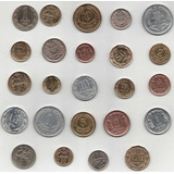 Colección De Monedas Antiguas Chilenas.
