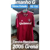 c459c915ed Camisa Fluminense Grená 2005 no Mercado Livre Brasil