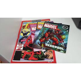 Revistas Eaglemoss Marvel + Posters
