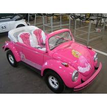 Mini Fusca Barbie / Buggy / Motorizado