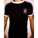 Camisa Corinthians Gola Careca (2 Camisas)