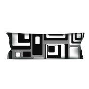 Almofada Grande Geométrica 35x95 Para Sofá Ou Cama R11