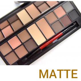 Paleta De Sombra Matte Original Smashbox + Pincel E Primer